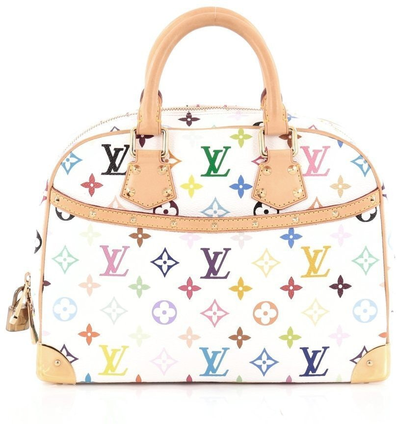 Louis Vuitton Trouville Monogram Multicolore White