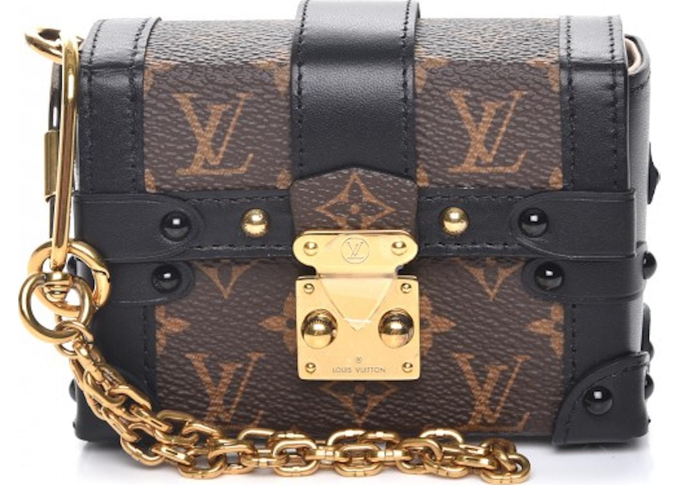 214f4315d408 Louis Vuitton Trunk Essential Monogram Noir Black. Monogram Noir Black