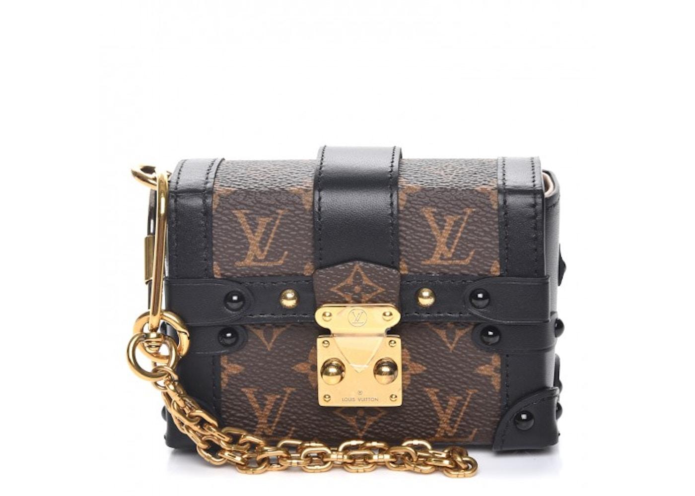 5abdce94c4 Louis Vuitton Trunk Essential Monogram Noir Black