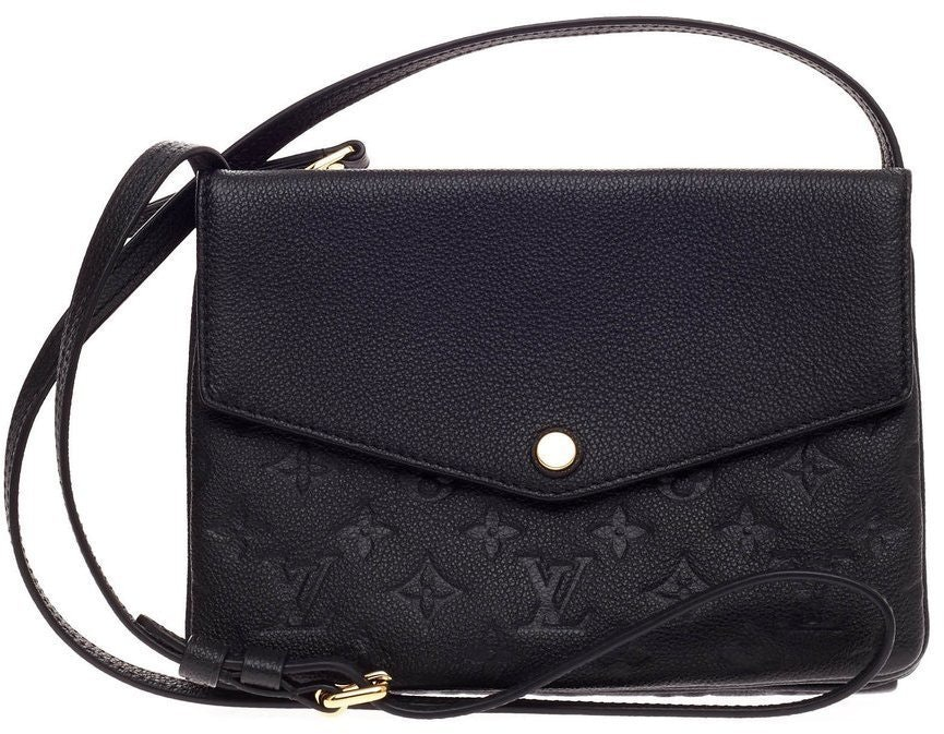 Louis Vuitton Twice Monogram Empreinte Black