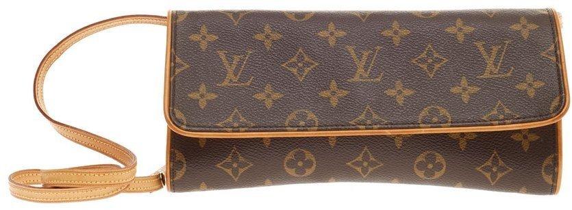 Louis Vuitton Twin Monogram Gm Brown