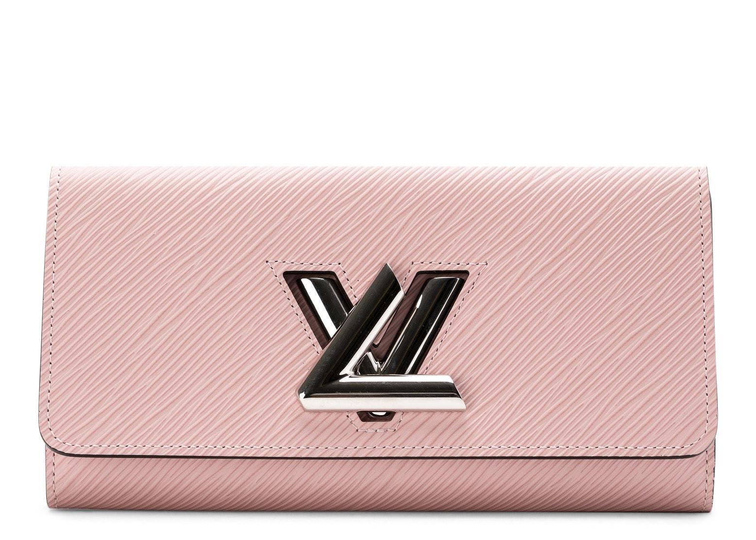 Louis Vuitton Twist Wallet Epi Rose Ballerine