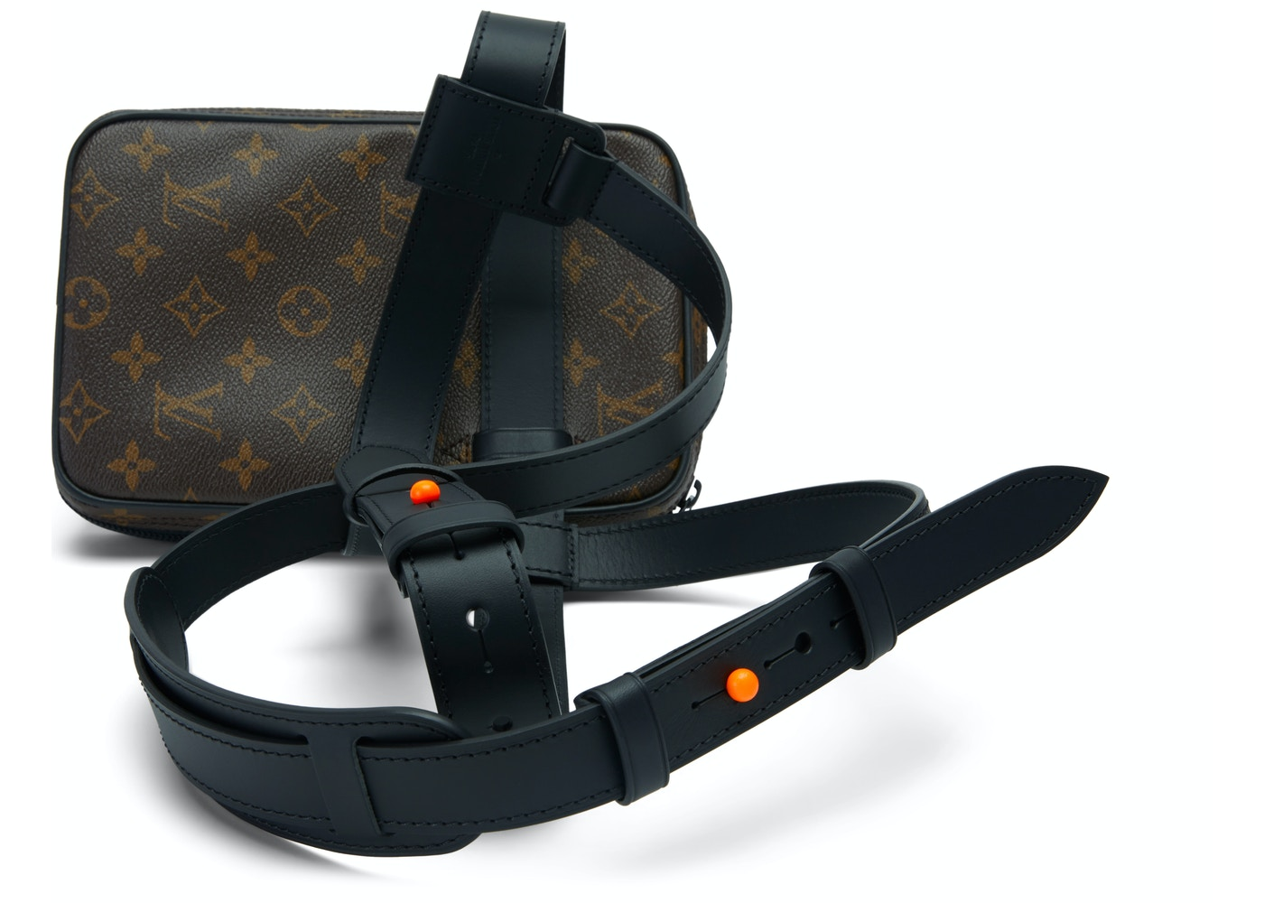 ee0e10dbf505 Louis Vuitton Utility Side Bag Monogram Brown