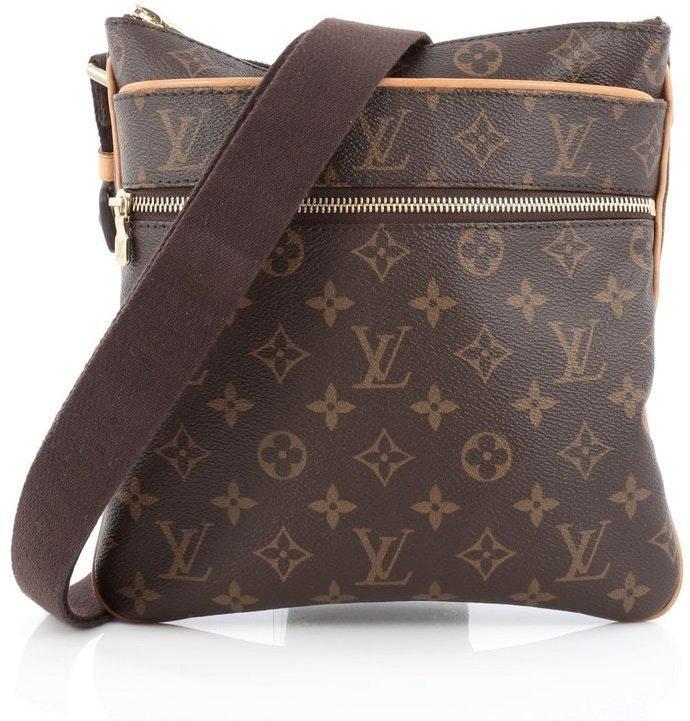 Louis Vuitton Valmy Pochette Monogram Brown