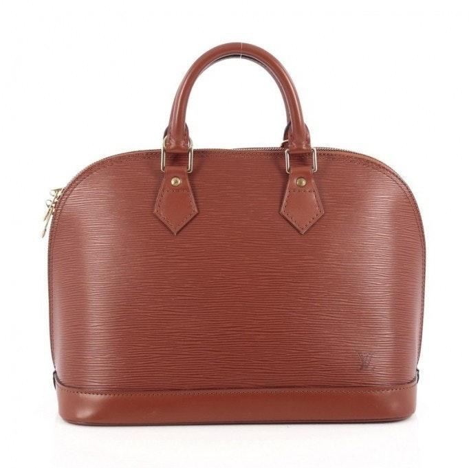Louis Vuitton Alma Epi PM Brown