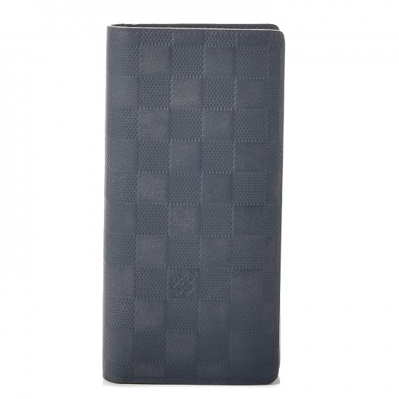 Louis Vuitton Wallet Brazza Damier Infini Cosmos