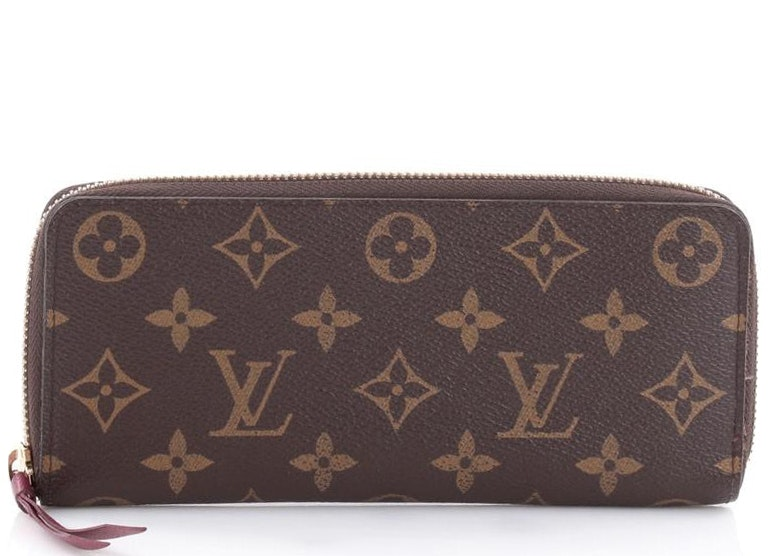 Louis Vuitton Clemence Monogram Brown/Berry