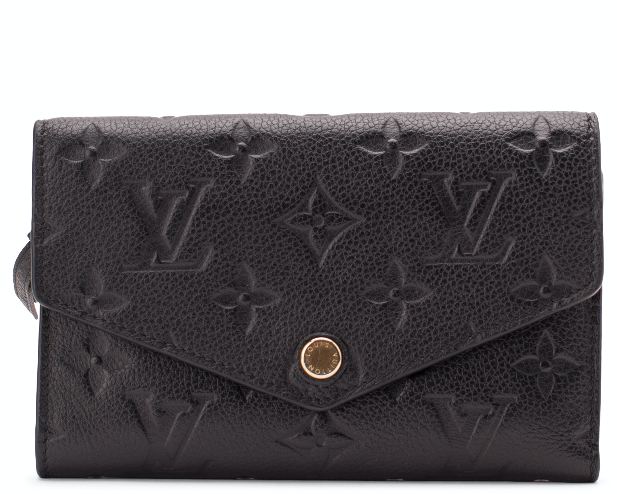 Louis Vuitton Wallet Compact Curieuse Monogram Empreinte