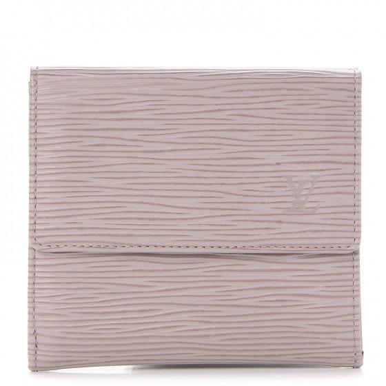 Louis Vuitton Wallet Elise Epi Lilac