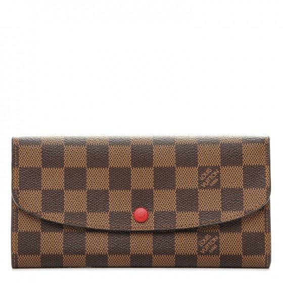 Louis Vuitton Wallet Emilie Damier Ebene