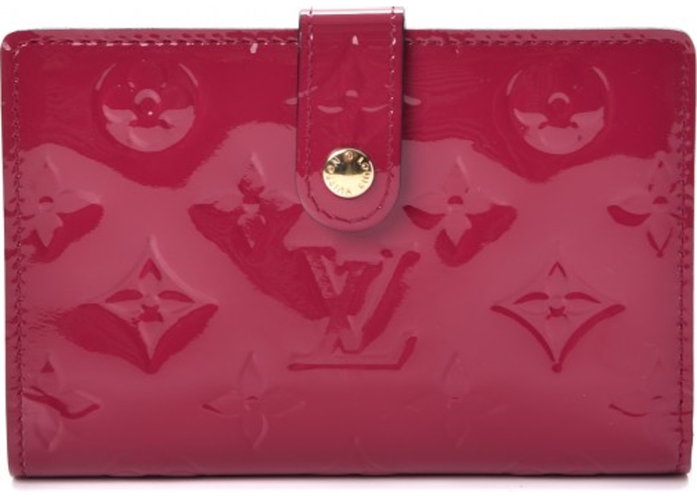 Louis Vuitton Wallet French Purse Monogram Vernis Rose Indien. Monogram  Vernis Rose Indien e6079e597ab
