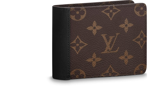e08cc47f2542 Louis Vuitton Wallet Gaspar Monogram Macassar Brown Black