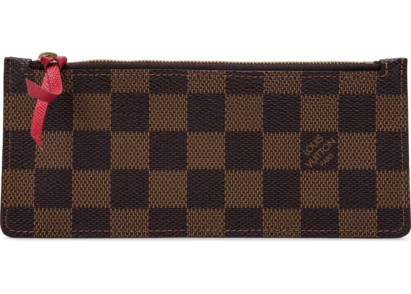 01aa274d8 HypeAnalyzer · Louis Vuitton Wallet Josephine Damier Ebene Zippered ...