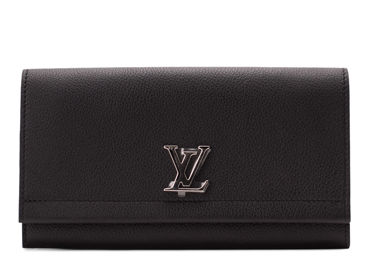 Louis Vuitton Wallet Lockme II Noir Black