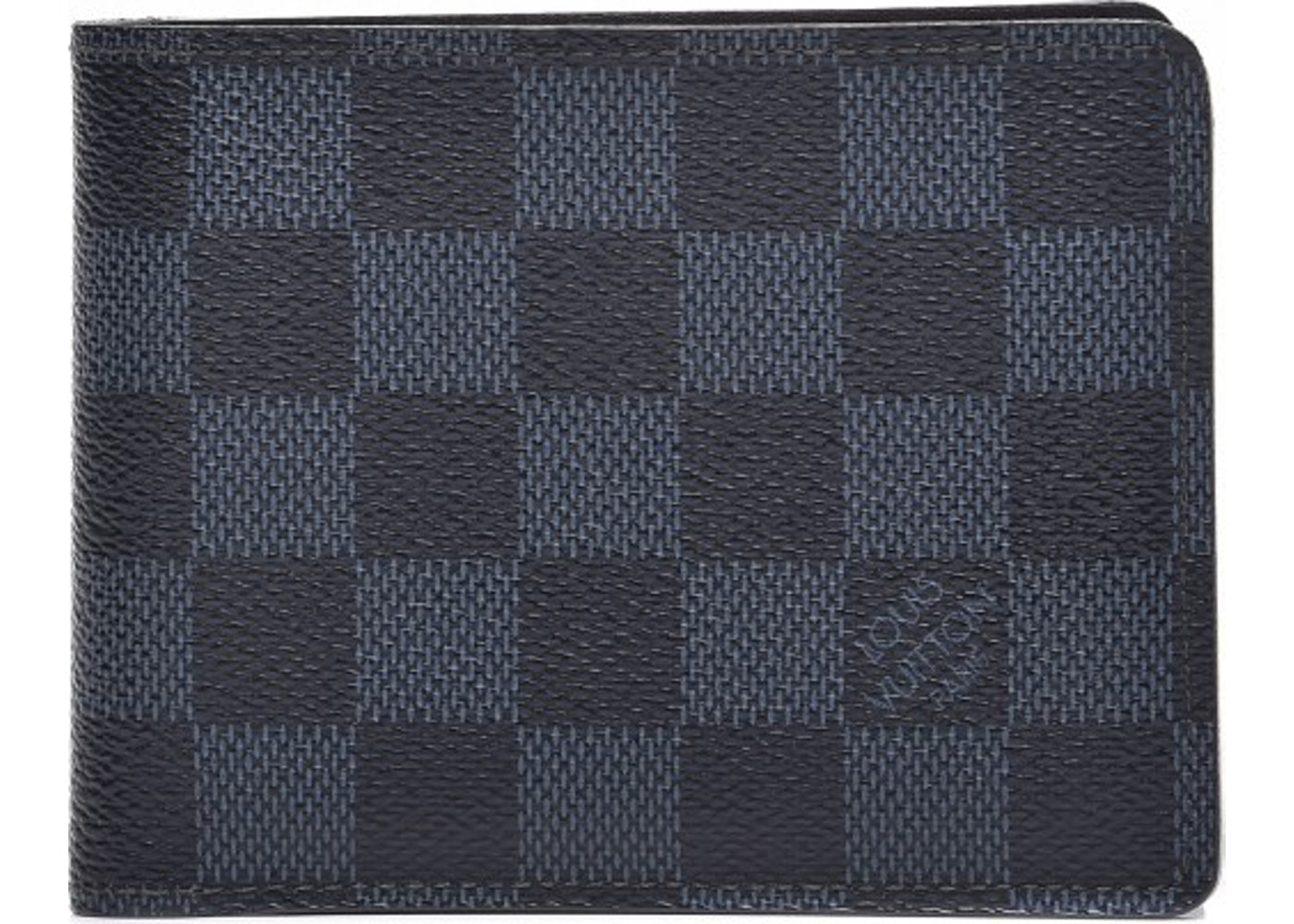 Louis Vuitton Multiple Wallet Damier Cobalt Black. Damier Cobalt Black f0f96dbd9e1
