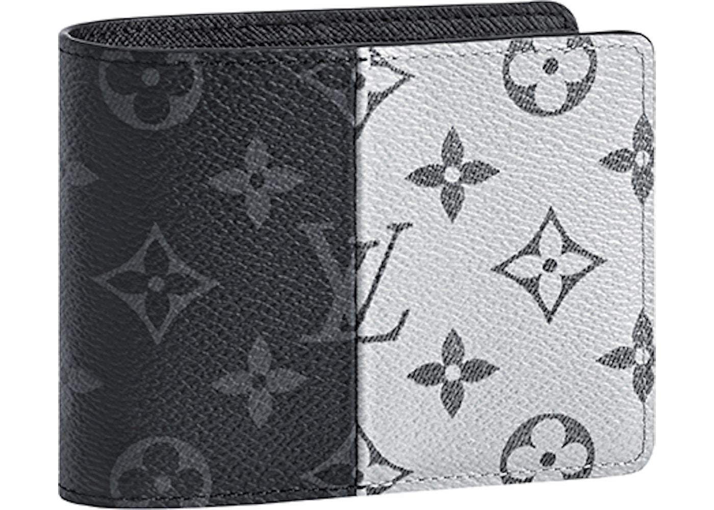 d8b10124d865 Louis Vuitton Wallet Multiple Monogram Eclipse Split Outdoor Black White. Monogram  Eclipse Split Outdoor Black White