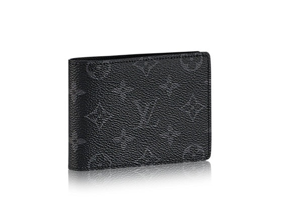 Louis Vuitton Wallet Multiple Monogram Eclipse