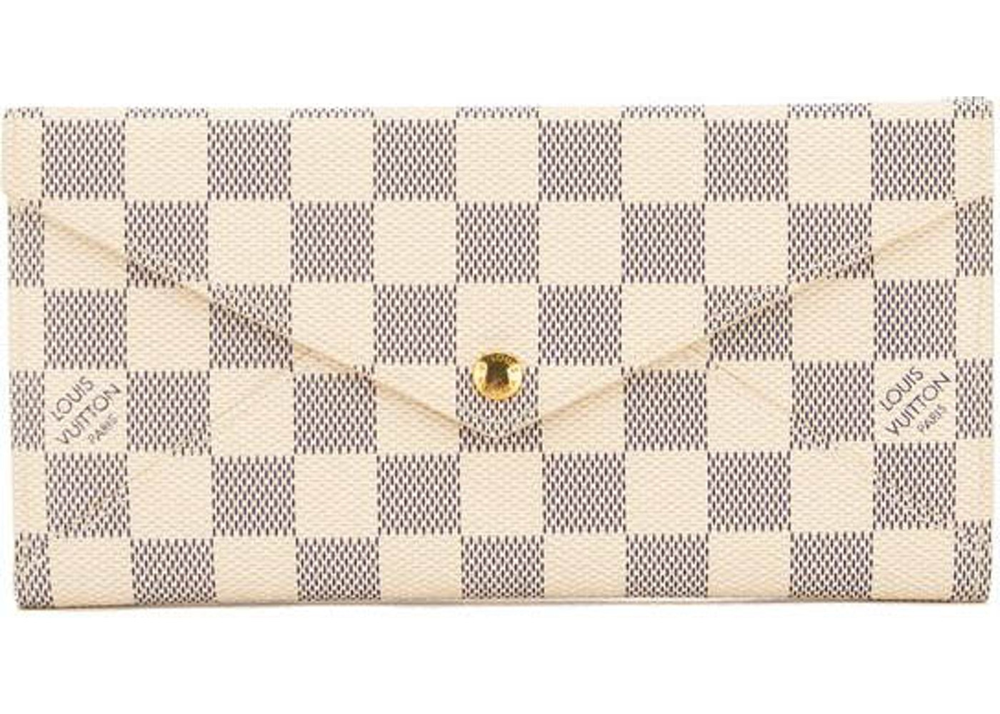 Louis Vuitton Origami Long Wallet Damier Azur Bluewhite