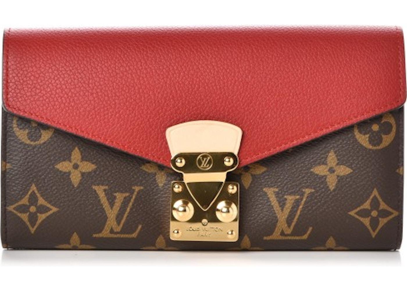58ec20767702 Louis Vuitton Wallet Pallas Monogram Cerise Cherry. Monogram Cerise Cherry
