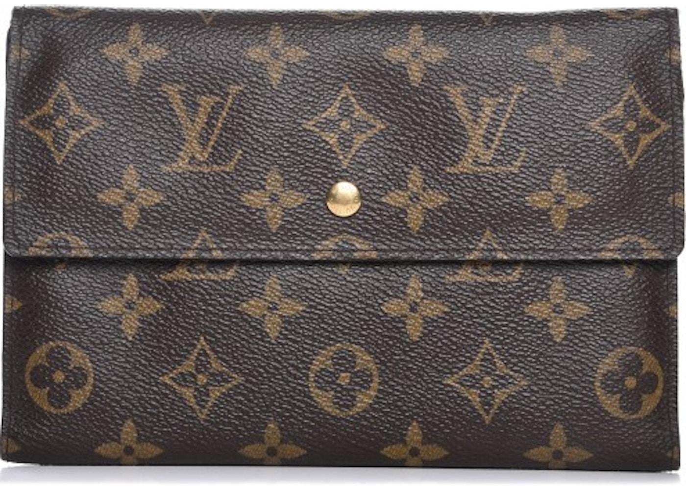 308b5a32e775 Louis Vuitton Wallet Passport Organizer Monogram Brown. Monogram Brown