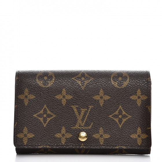 Louis Vuitton Wallet Porte Monnaie Billets Tresor Monogram