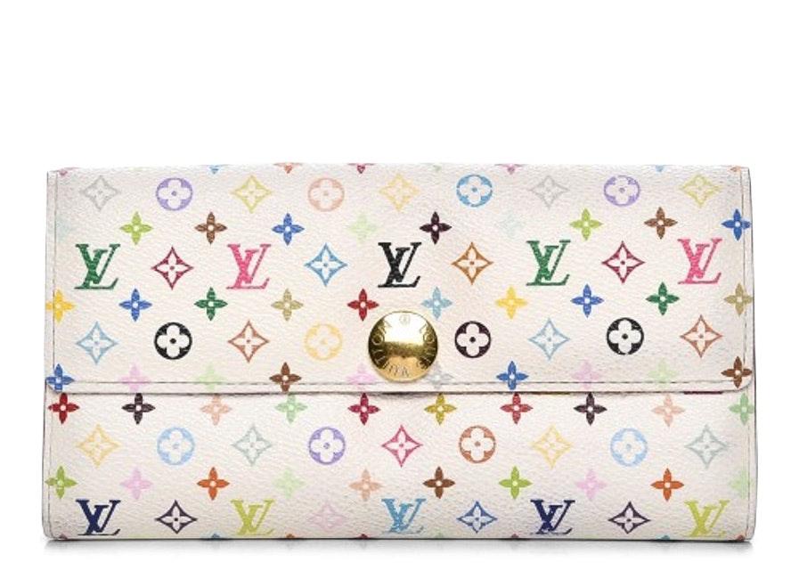 Louis Vuitton Wallet Sarah Monogram Multicolor