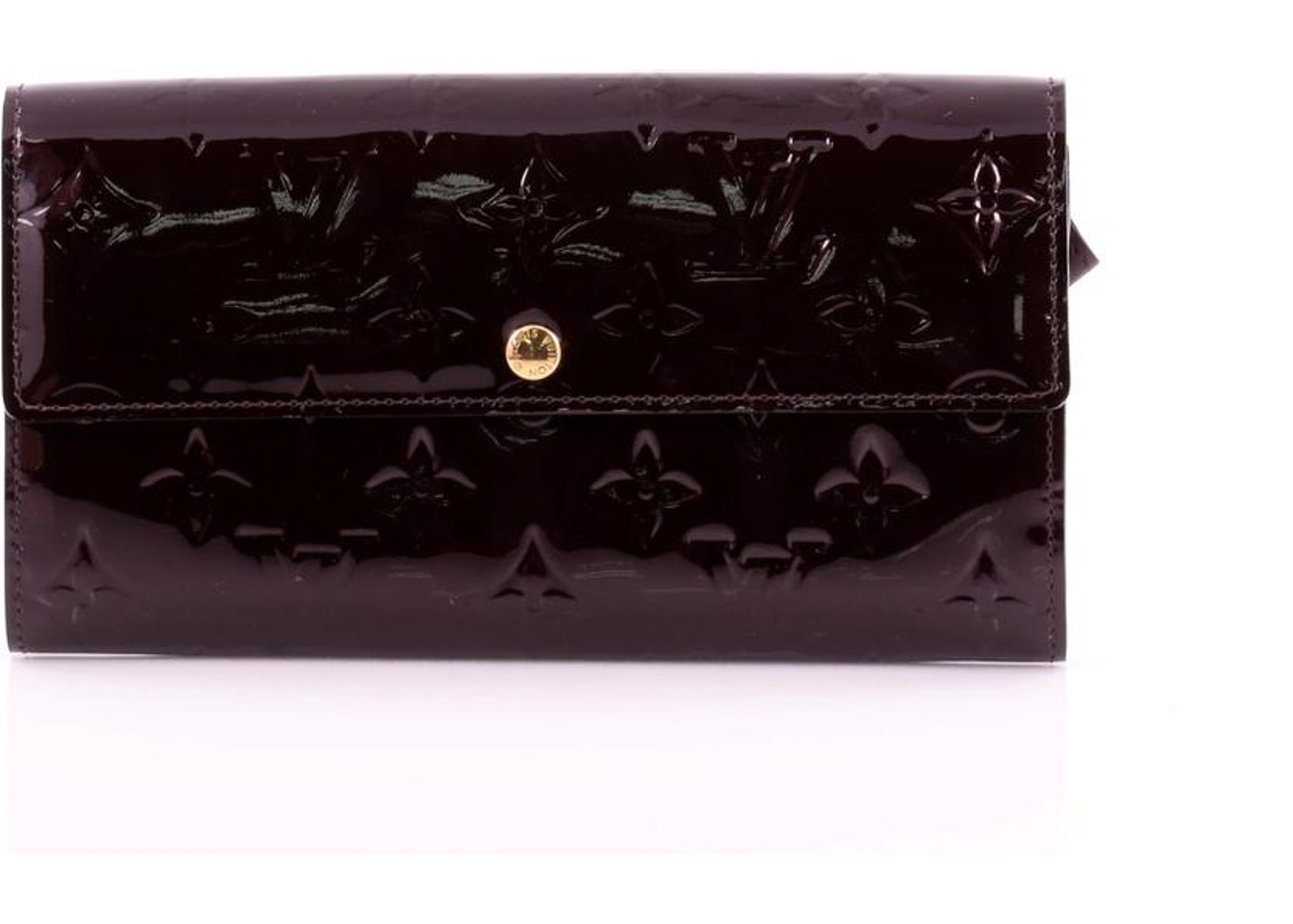 9f0e2f678434 Louis Vuitton Wallet Sarah Monogram Vernis Amarante. Monogram Vernis  Amarante