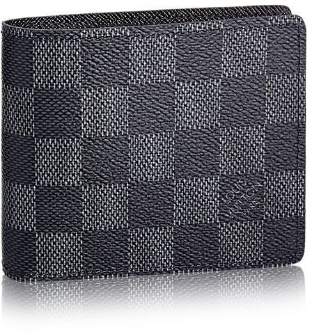 Louis Vuitton Wallet Slender Damier Graphite Gray/Black