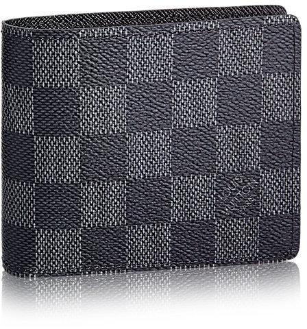Louis Vuitton Wallet Slender Damier Graphite Gray/Black