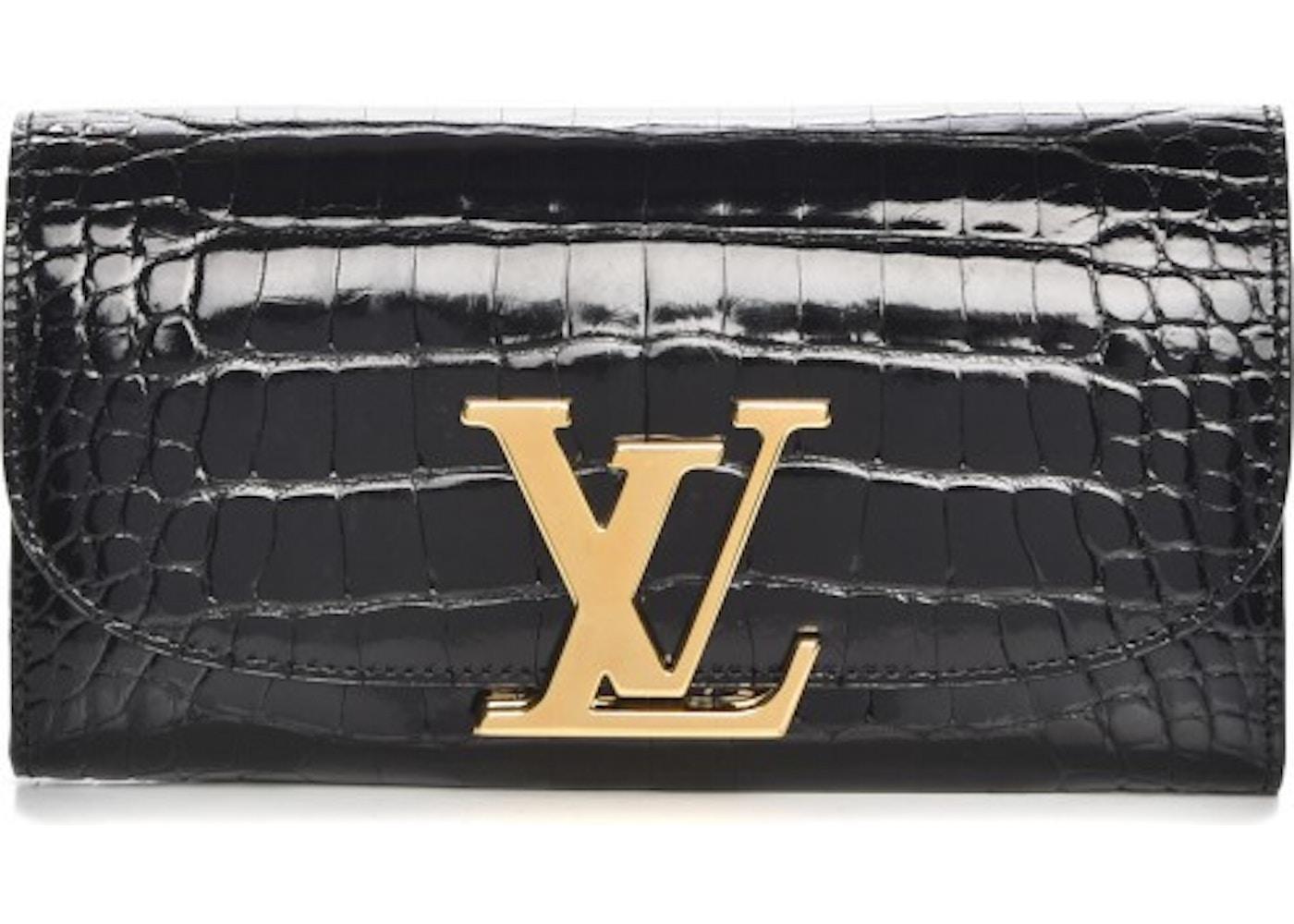 66cc62c8dcf8 Louis Vuitton Wallet Vivienne LV Long Noir Black. Long Noir Black