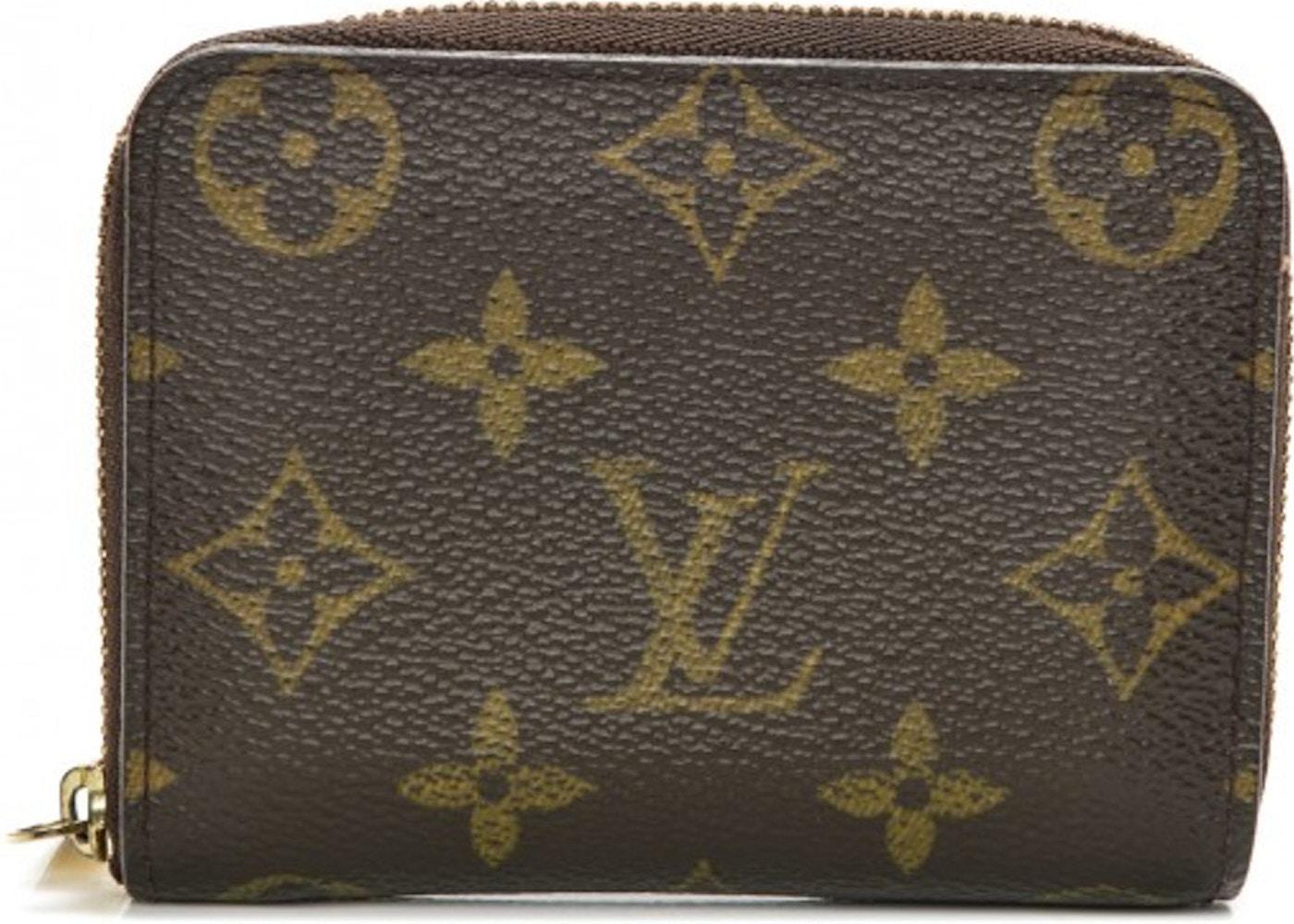 ab8ec4f56f77 Louis Vuitton Wallet Zippy Coin Purse Monogram Brown. Monogram Brown