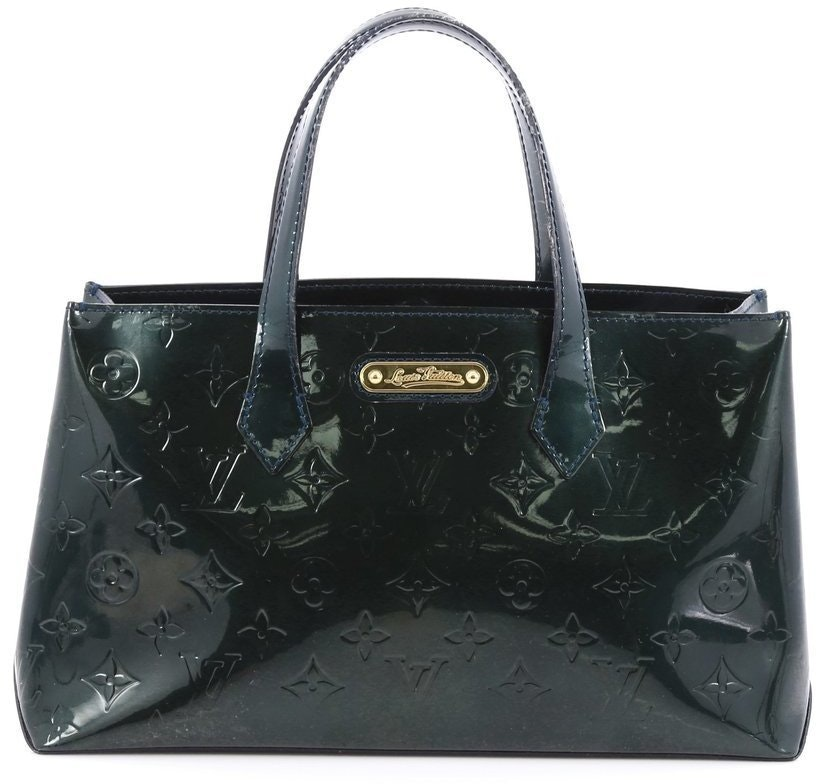 Louis Vuitton Wilshire Monogram Vernis PM Green