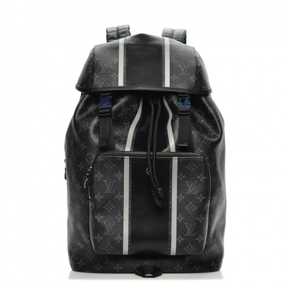 Louis Vuitton x Fragment Zack Backpack Monogram Eclipse Black