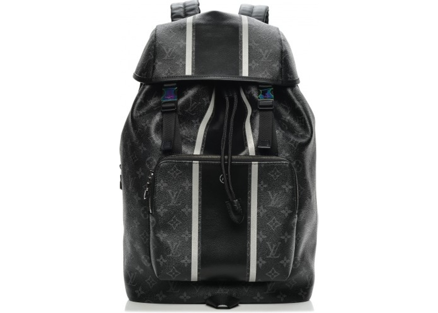 2182aab8beee Louis Vuitton x fragment Zack Backpack Monogram Eclipse Black. Monogram  Eclipse Black