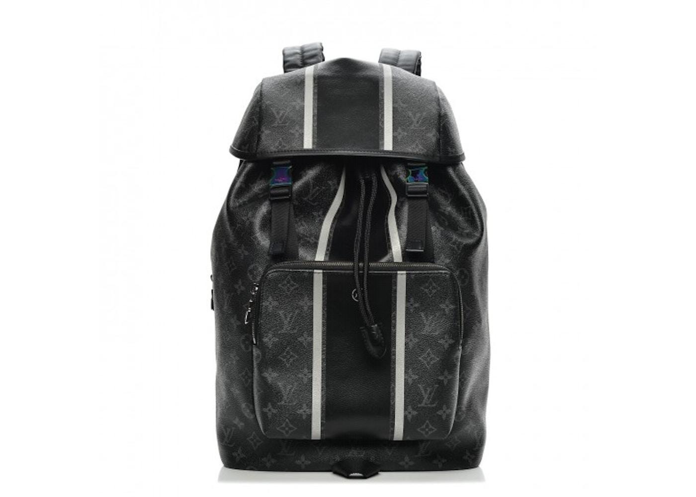 de5b0101222 Louis Vuitton x fragment Zack Backpack Monogram Eclipse Black