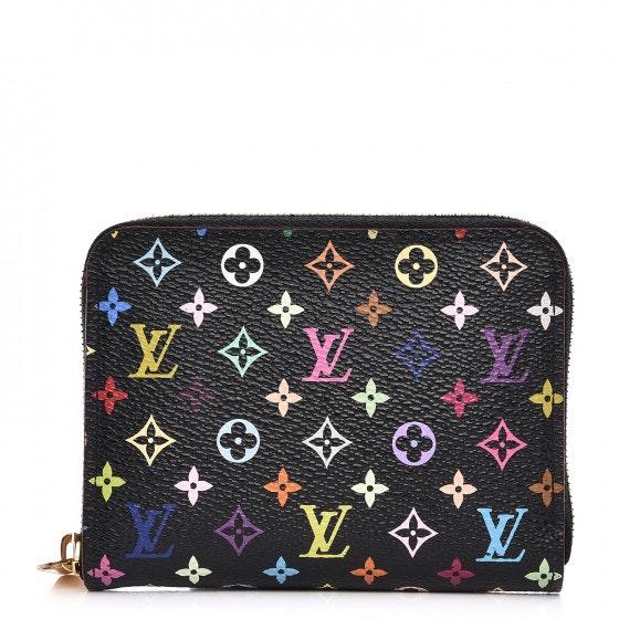 Louis Vuitton Zippy Coin Purse Monogram Multicolor