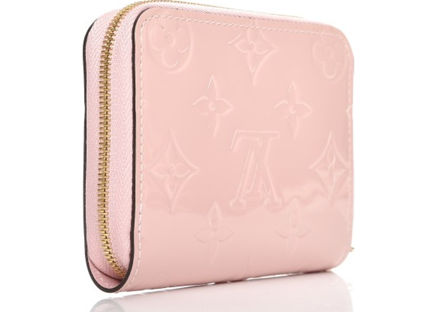 6f7d7d0cfa35 Louis Vuitton Zippy Coin Purse Monogram Vernis Rose Ballerine