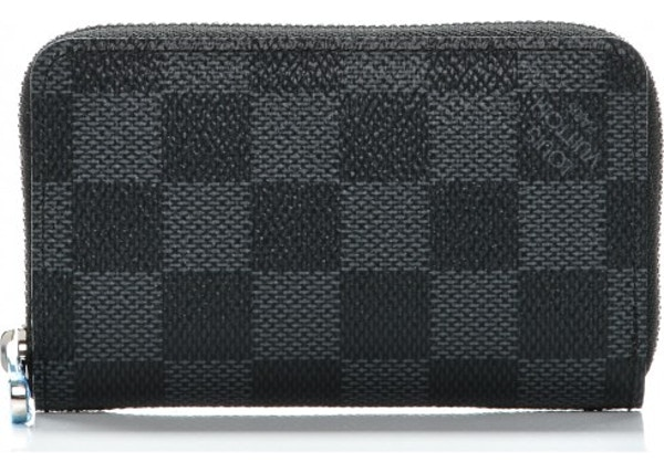40336f524b02 Louis Vuitton Zippy Coin Purse Vertical Damier Graphite