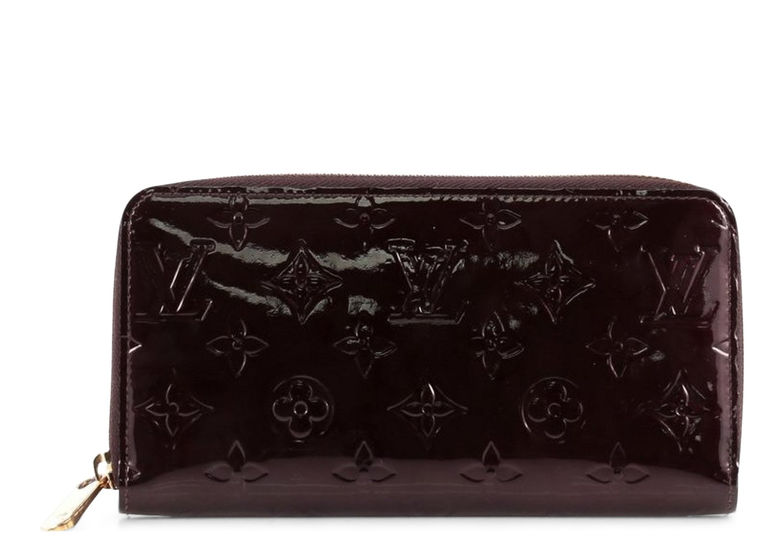 Louis Vuitton Zippy Monogram Vernis Amarante