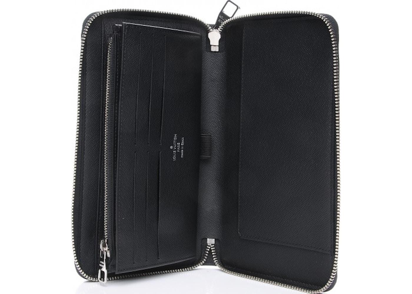 527ee940e5 Louis Vuitton Wallet Zippy Organizer Damier Graphite