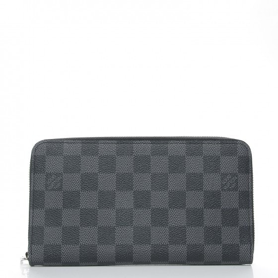 Louis Vuitton Wallet Zippy Organizer Damier Graphite