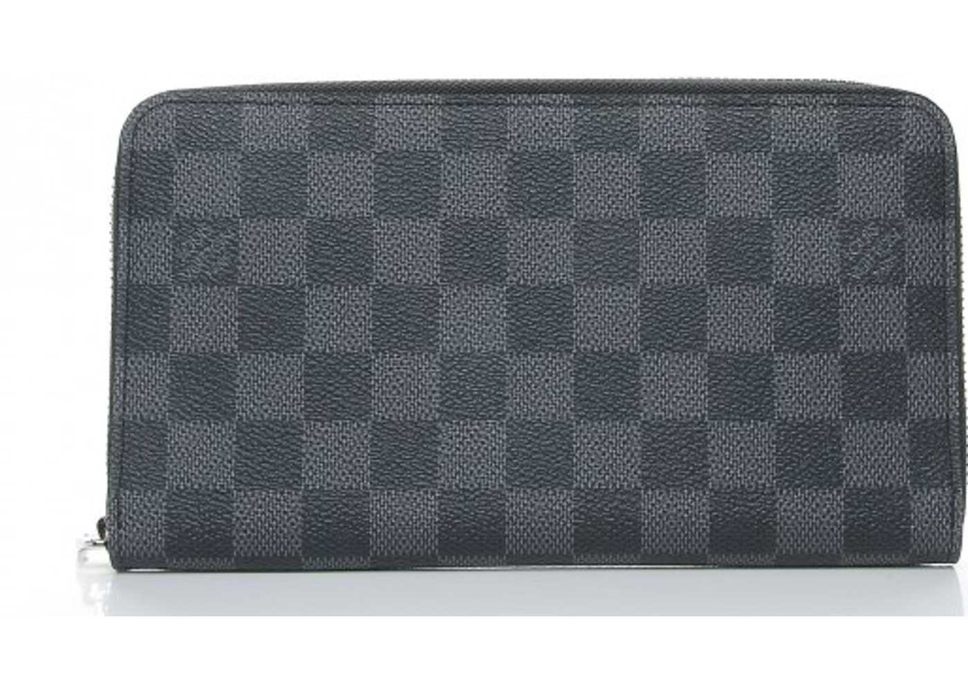 7d49092d56 Louis Vuitton Wallet Zippy Organizer Damier Graphite. Damier Graphite