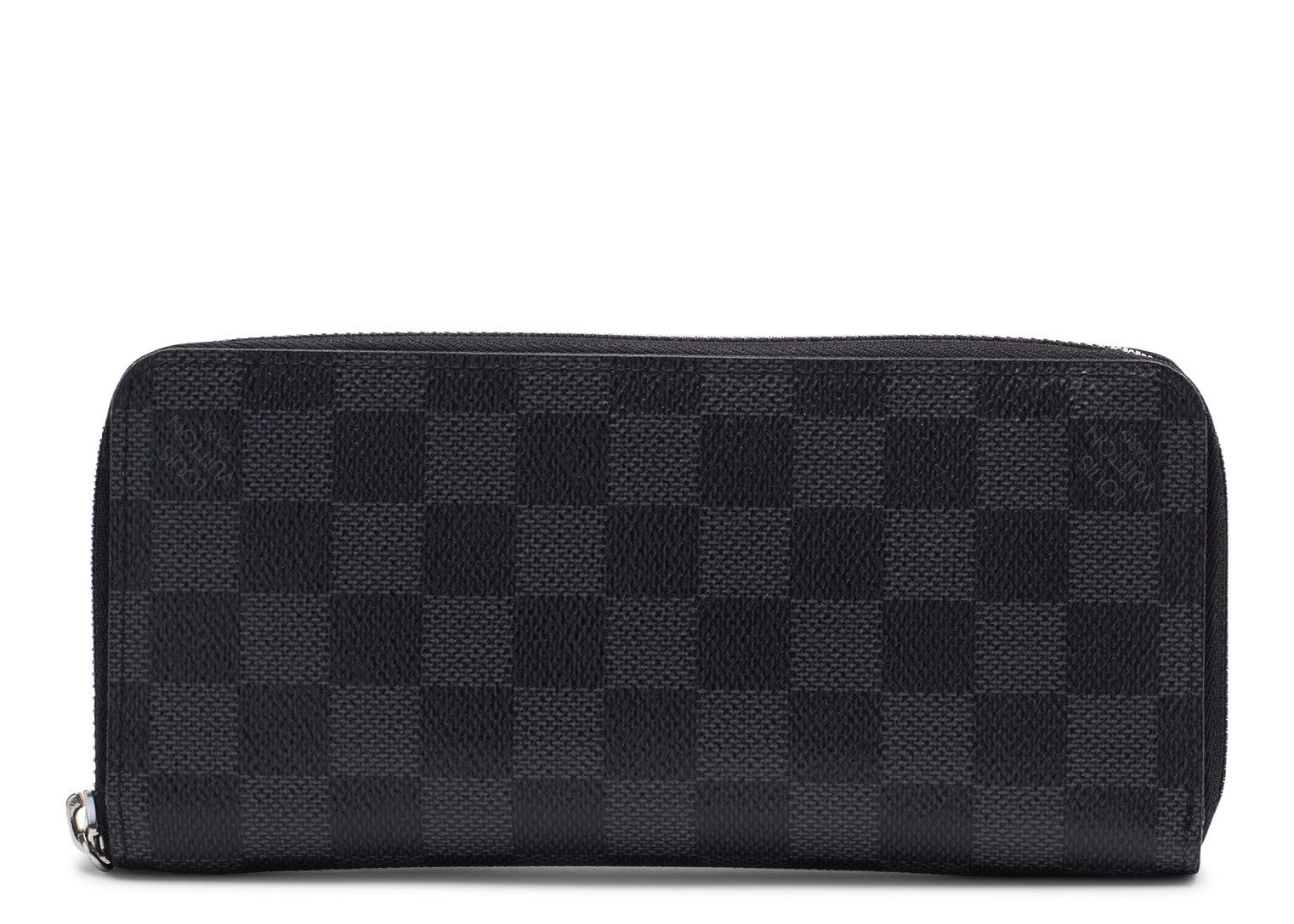 Louis Vuitton Zippy Vertical Damier Graphite Black