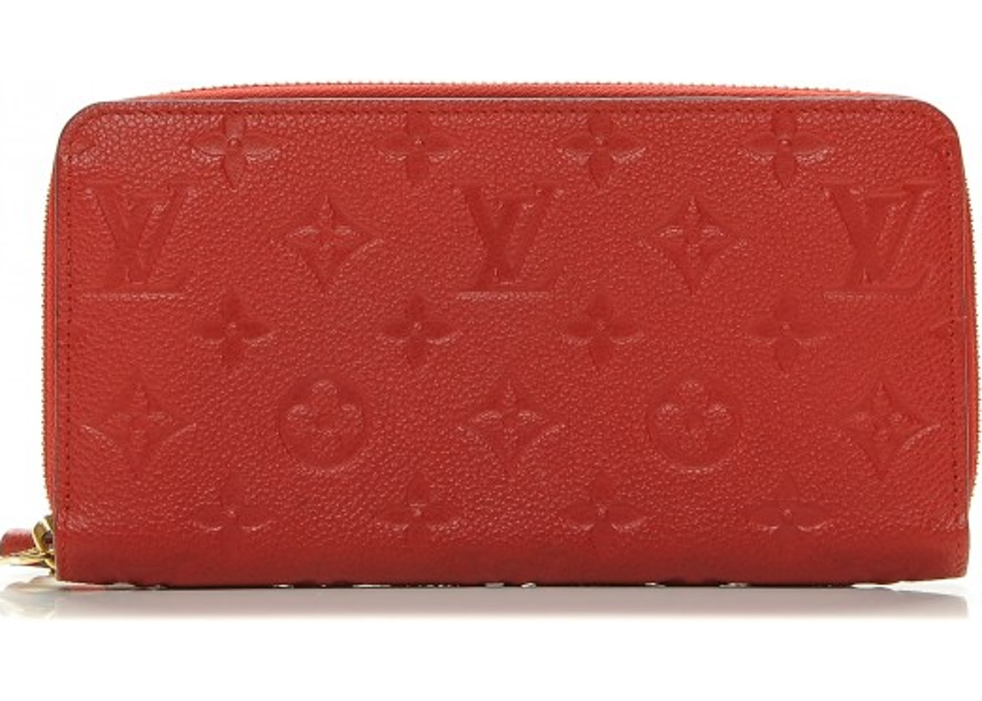 Louis Vuitton Zippy Wallet Monogram Empreinte Cerise Cherry. Monogram  Empreinte Cerise Cherry 3645dd41d