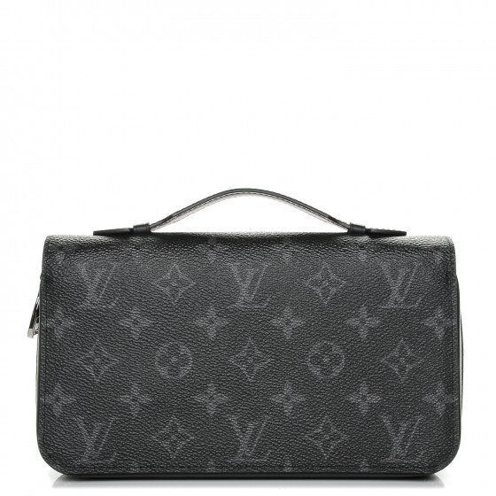 Louis Vuitton Zippy Wallet Monogram Eclipse XL