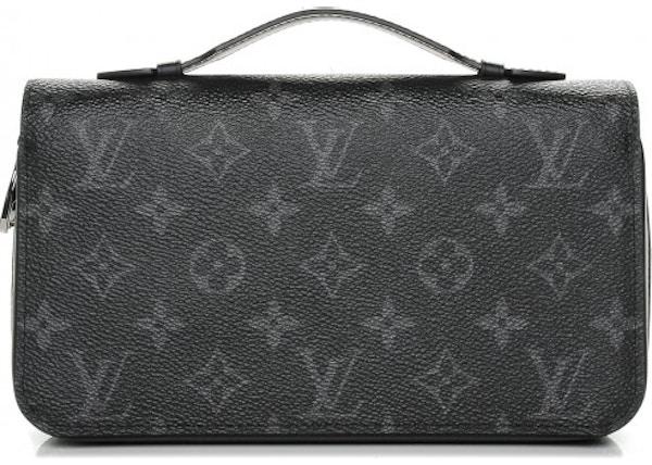 Louis Vuitton Zippy Wallet Monogram Eclipse XL 155d1ab000aa2