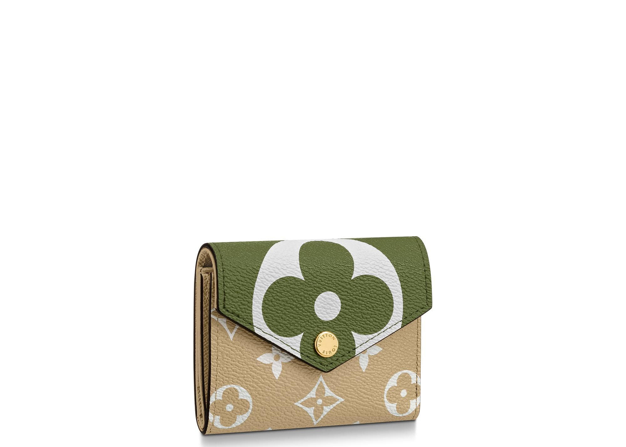 Louis Vuitton Zoe Wallet Monogram Giant Khaki Green/Beige