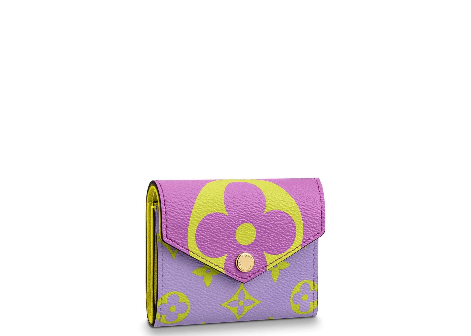 Louis Vuitton Zoe Wallet Monogram Giant Pink/Lilac
