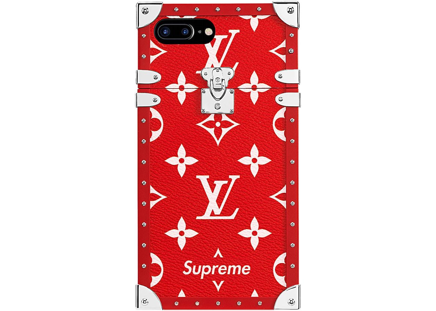 Louis Vuitton X Supreme Iphone 7 Plus