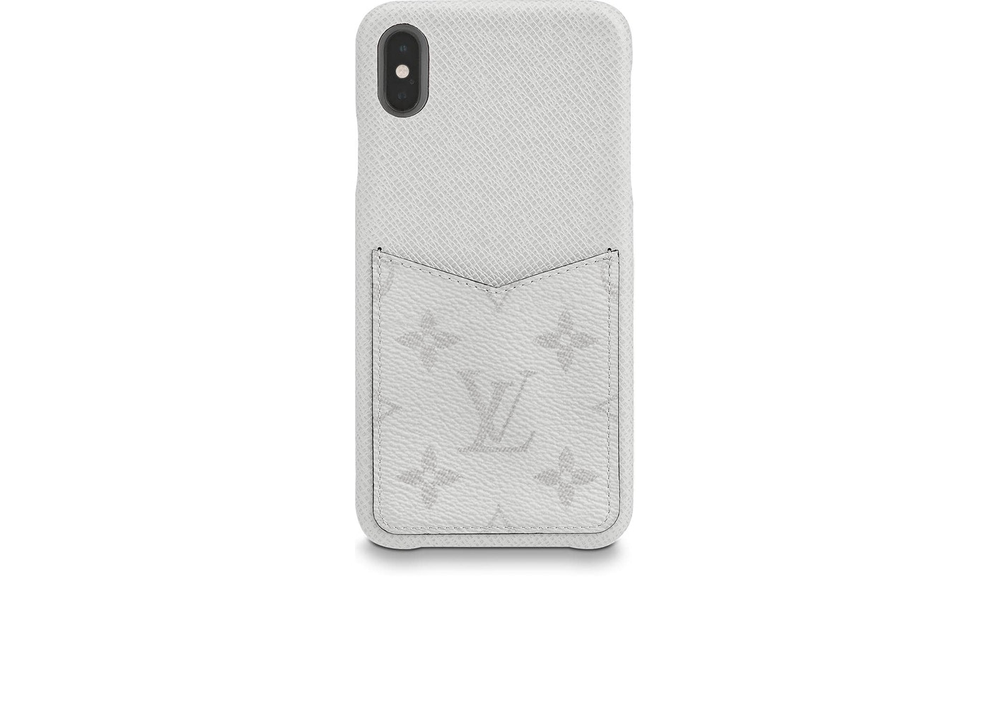 online retailer 0c594 ef7ca Louis Vuitton iPhone Case Monogram Antarctica Taiga XS MAX White